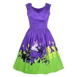 NWT Disney Dress Shop Maleficent dress sz M